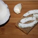 Фальшивое сало из кокосового ореха