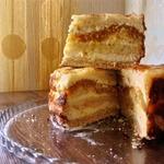 Творожное пирожное без замеса теста