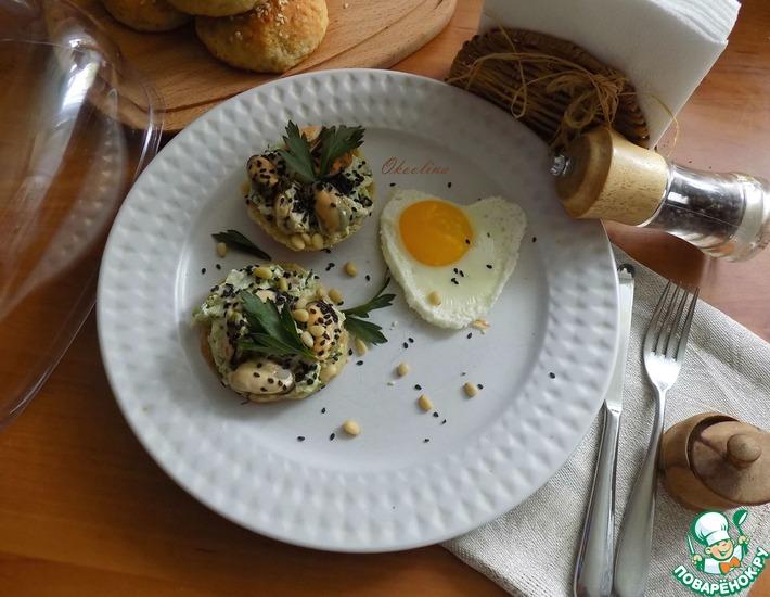 Рецепт: Намазка из авокадо с мидиями