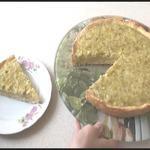 Домашний пирог с ревенем