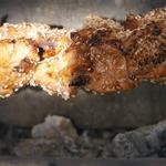 Шашлык из куриной грудки в терияки