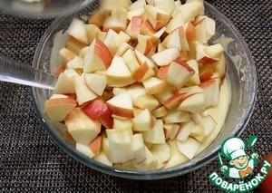 Мега яблочный пирог на кефире Яйцо куриное