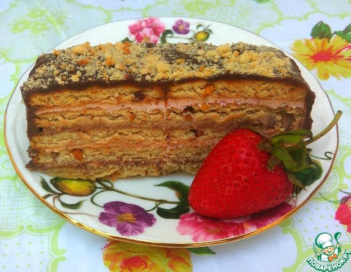 Рецепт: Творожный десерт Дуэт