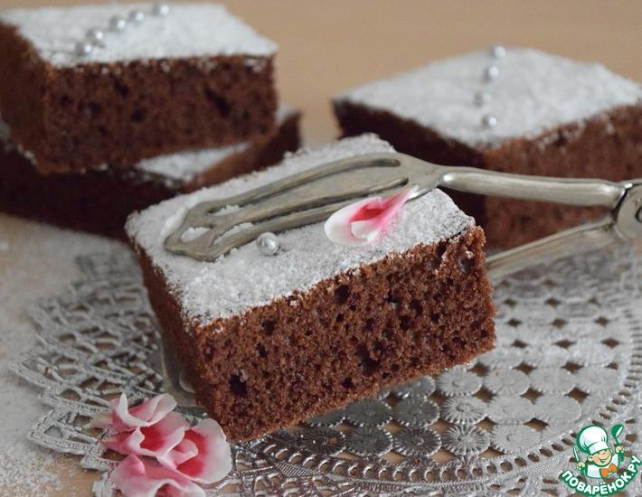 Рецепт: Пряный пирог с сахарной пудрой