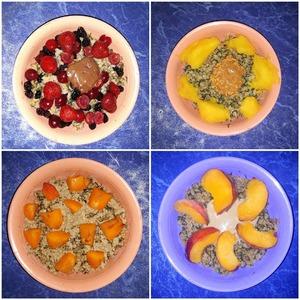 Эти сочетания очень приятные. Каша получается питательной, полезной и вкусной. Порции калорийные, но все эти калории правильные. Такая утренняя каша поможет не переедать весь день, зарядин энергией и позитивом. Приятного аппетита!