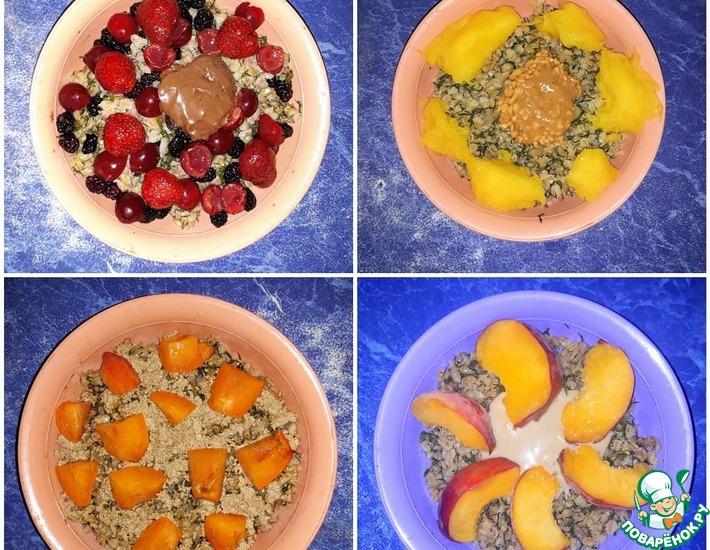 Рецепт: Перловка для хорошего настроения на завтрак
