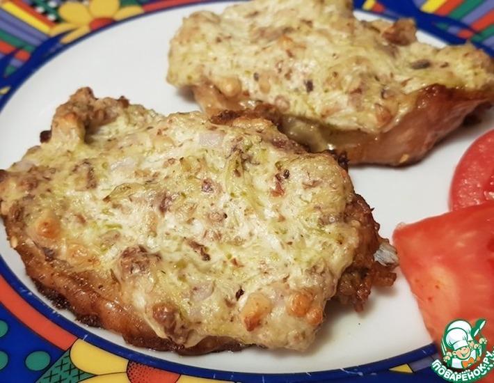 Рецепт: Мясо с орехами
