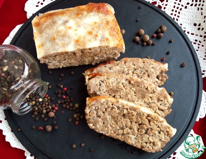 Рецепт: Мясная запеканка-суфле