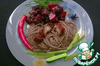 Рецепт: Любимое мясо Мао Дзэдуна