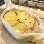Запечённая форель с картофелем и тимьяном