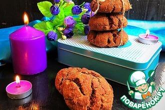 Рецепт: Шоколадно-кокосовое печенье «Альт»