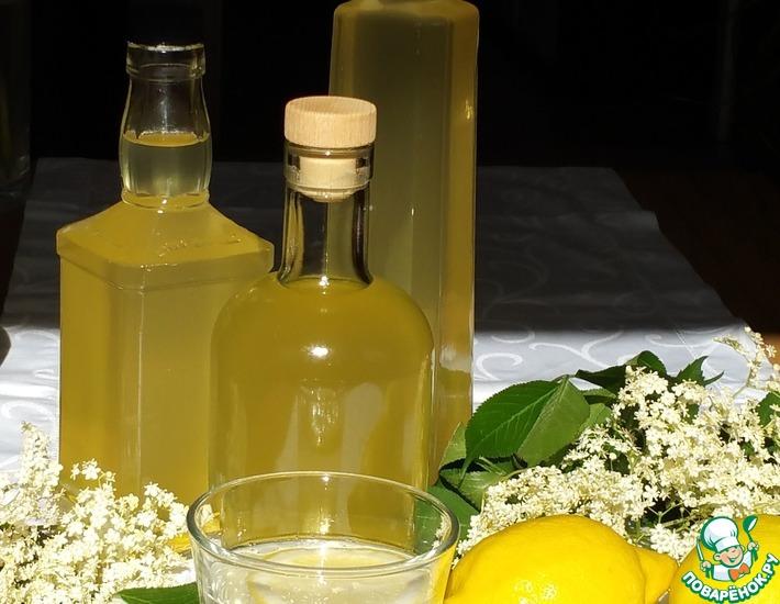 Рецепт: Сироп из цветов бузины