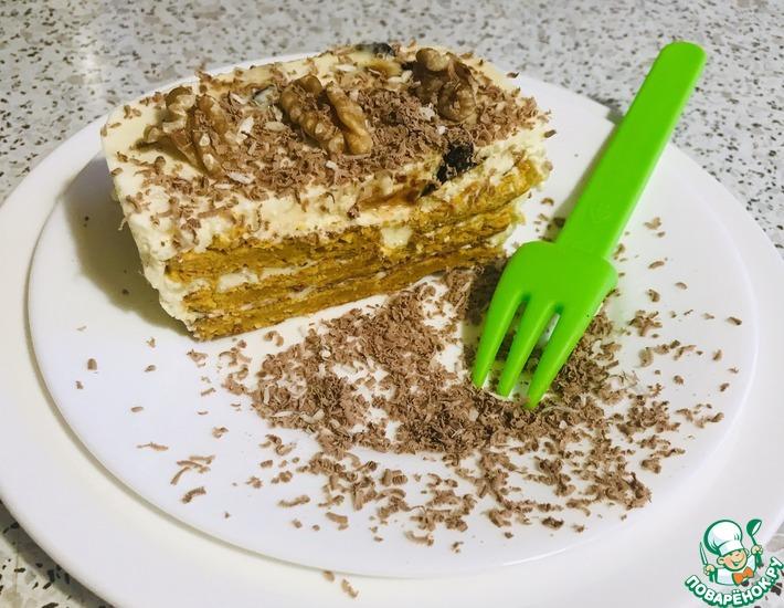 Рецепт: Морковное пирожное