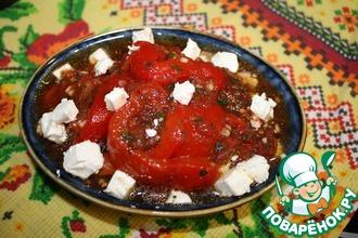 Рецепт: Закуска из болгарского перца и помидоров