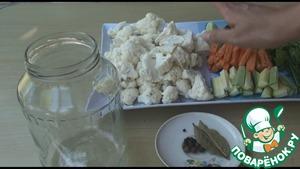 Хрустящие маринованные овощи Туршия ингредиенты