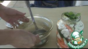 Хрустящие маринованные овощи Туршия Масло растительное