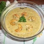 Крем-суп из порея и цуккини