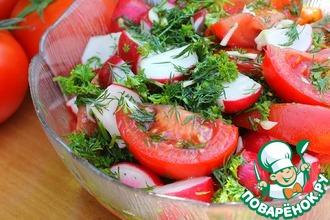 Рецепт: Салат к шашлыку и не только
