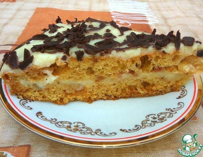 Рецепт: Торт Простой