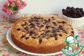 Рецепт: Пирог с шелковицей от Марты Стюарт