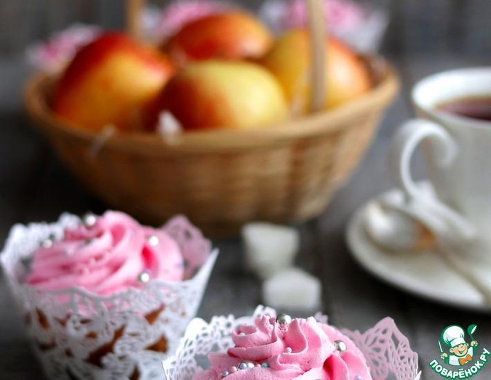 Рецепт: Яблочные кексы