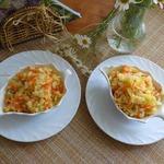 Капустный салат из советских времён
