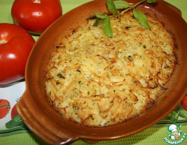 Рецепт: Картофельная запеканка Пататник
