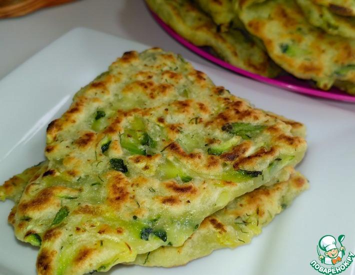 Рецепт: Лепешки с кабачками или цукини