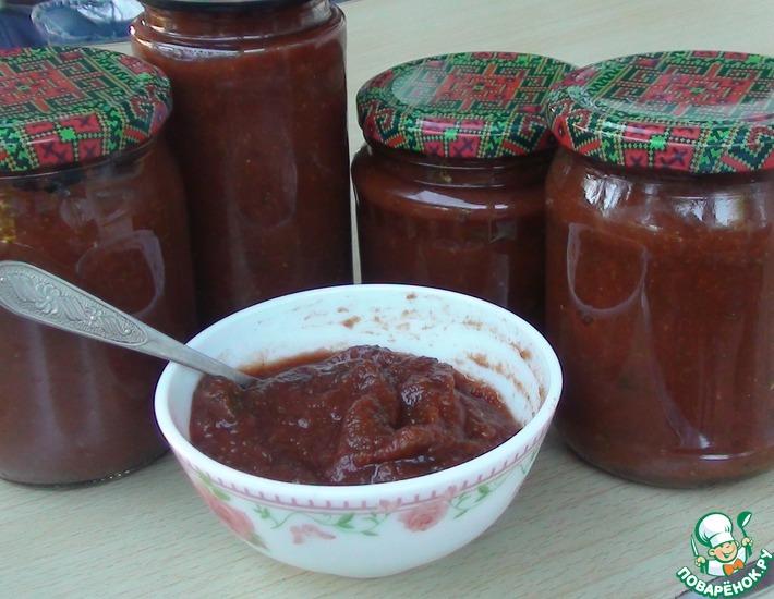 Рецепт: Кабачковый кетчуп