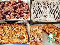 Пирог с ревенем и вишней ингредиенты