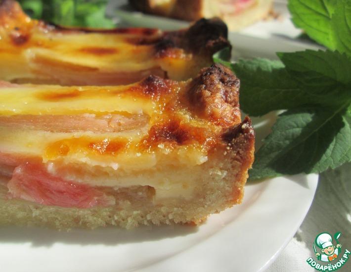 Рецепт: Тарт с ревенем