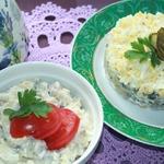Салат из сельди Нежный