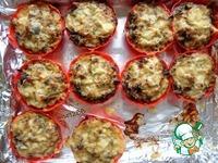 Мясные тарталетки с баклажаном ингредиенты