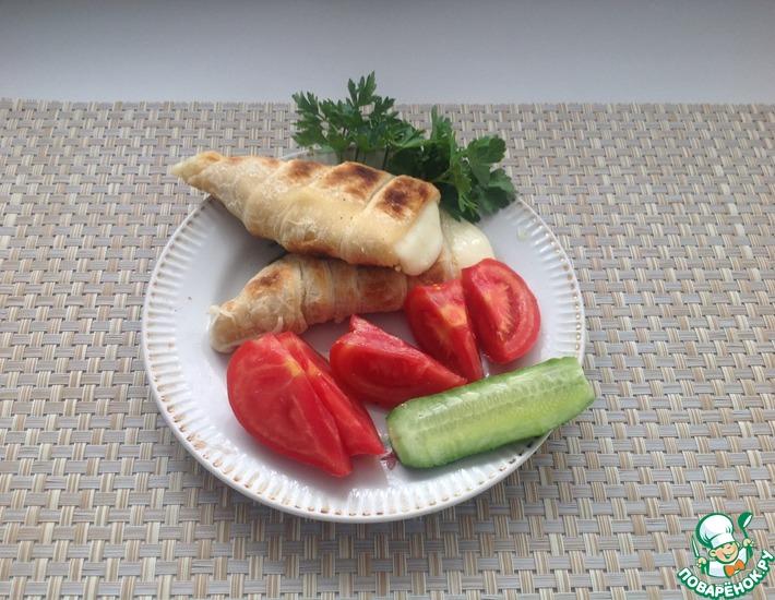 Рецепт: Хачапури на мангале