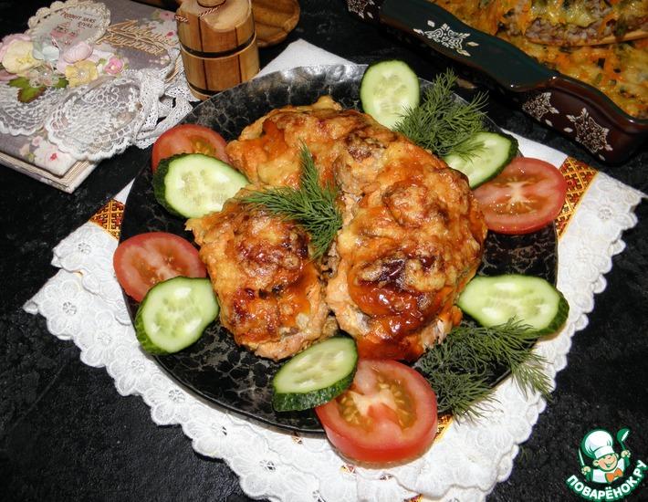 Рецепт: Мясо под шубой Хороший аппетит