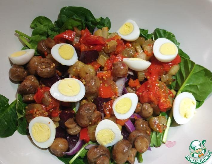Рецепт: Салат из печи