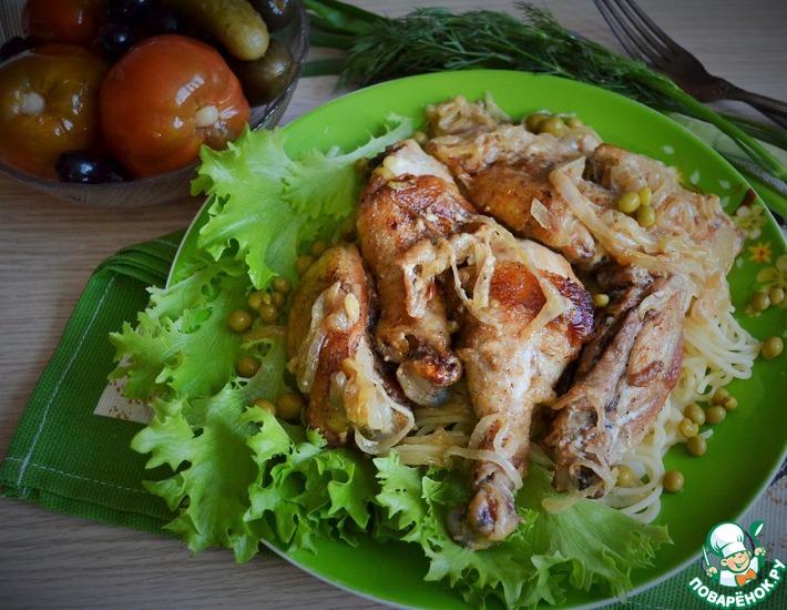 Рецепт: Курица по-сельски