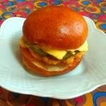 Гамбургеры Золотистые с рубленой куриной котлетой