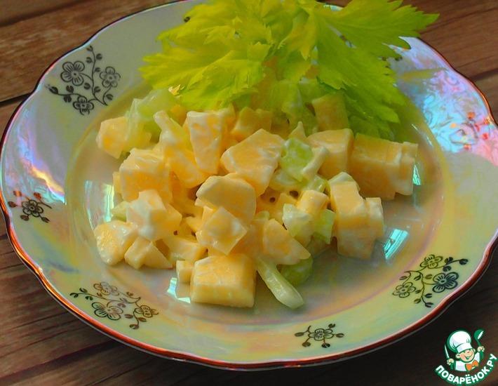Рецепт: Быстрый витаминный салат