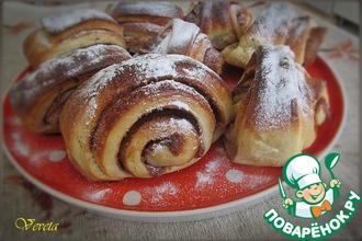 Рецепт: Финские булочки с корицей Корвапуусти