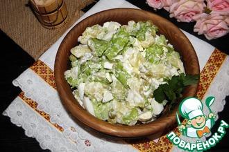 Рецепт: Картофельный салат Самый простой
