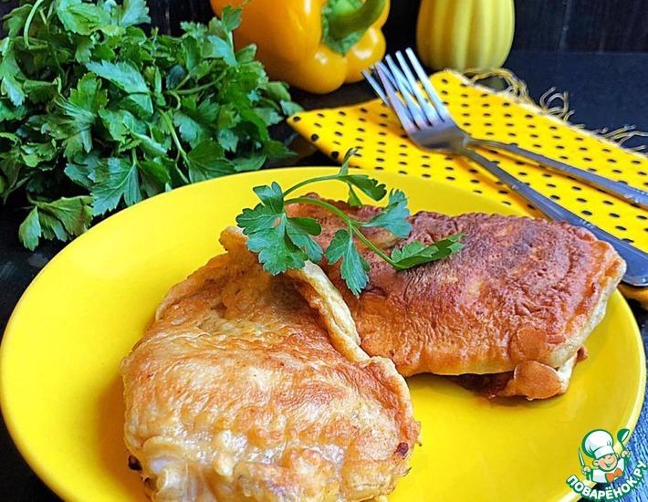 Рецепт: Рыба в кляре «Солнечная»