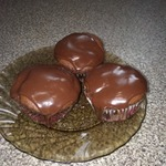 Шоколадно-банановые кексы – кулинарный рецепт