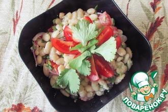 Рецепт: Турецкий фасолевый салат