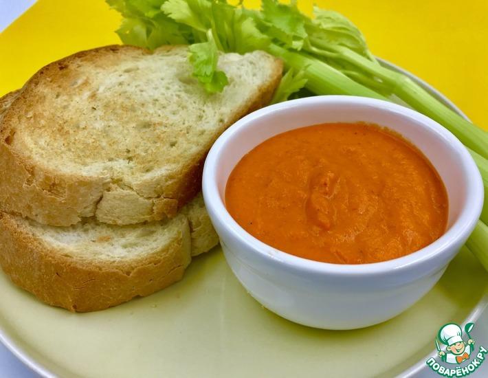 Рецепт: Соус из запеченного болгарского перца