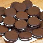 Шоколадное печенье по мотивам Орео