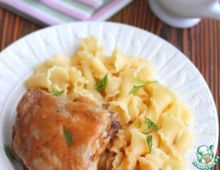 Рецепт: Соус к отварному мясу и птице