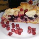 Яблочно-ягодный пирог