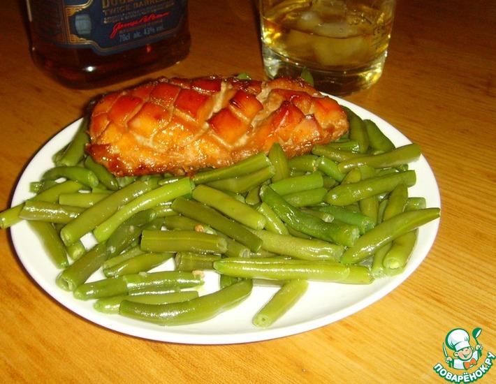Рецепт: Курица с бурбоном
