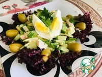 Весенний салат с курицей и черемшой ингредиенты